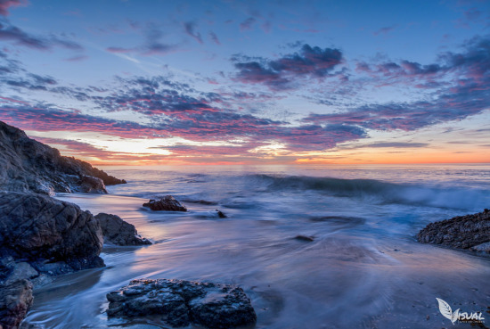 Early Sunrise at Leo Carillo